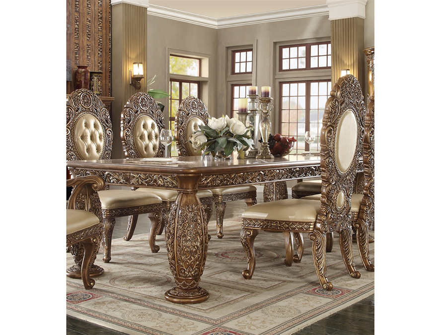 3d9e49292646 Dining Table In Gold-Tone - Shop for Affordable Home Furniture ...