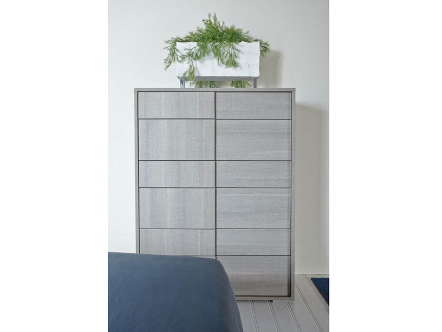 Vivente Forte High Chest In Matte Grey Shop For