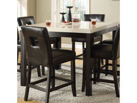 Archstone Faux Marble Counter Height Table