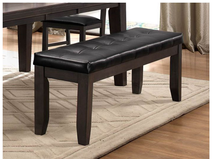 Ameillia 60u2033Dining Bench In Grey/Brown