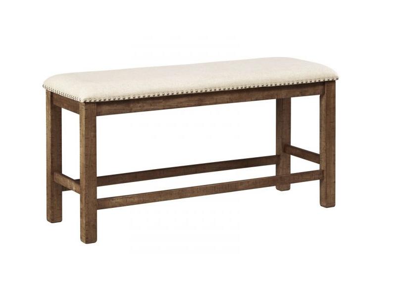 Moriville Double Upholstered Bench