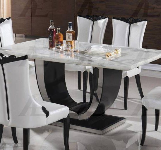 Gray Marble Top Dining Table Set & Gray Marble Top Dining Table Set - Shop for Affordable Home ...