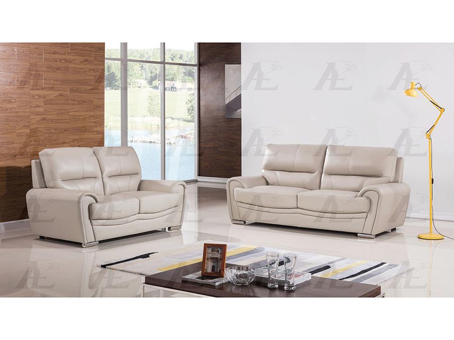 Marvelous Light Gray Genuine Leather Sofa Set Bralicious Painted Fabric Chair Ideas Braliciousco