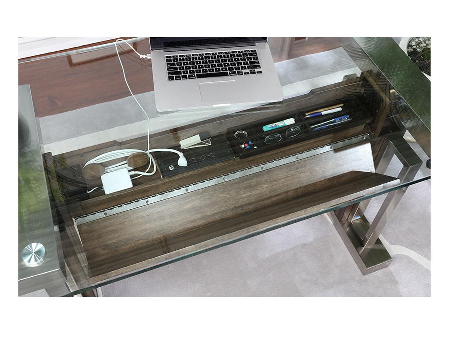 Superb Soho 54 Sitn Stand Adjustable Height Desk With Glass Top Interior Design Ideas Clesiryabchikinfo