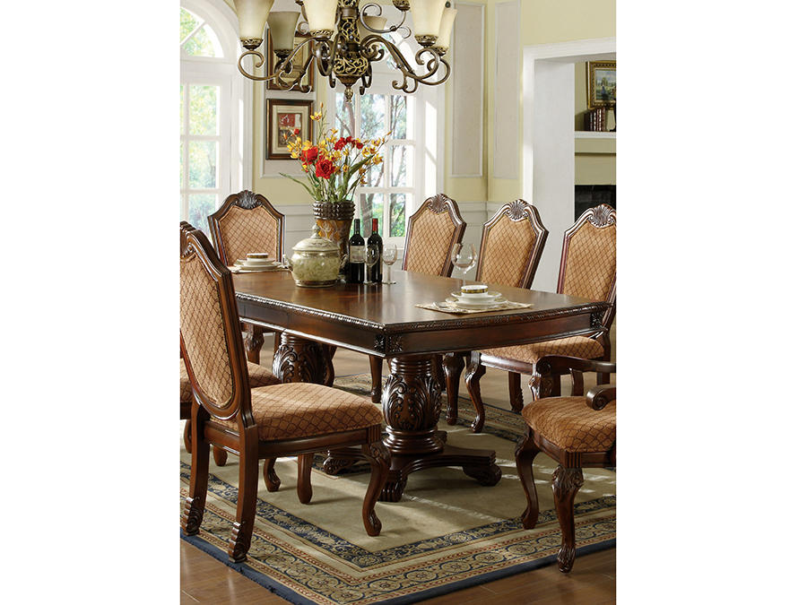 Napa valley dining table in dark cherry shop for for Napa valley home decor