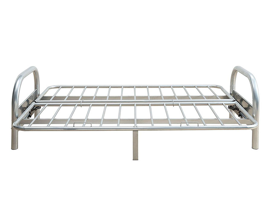 Alfonso Arm Span Silver Sofa Bed Futon Metal Frame - Shop for ...