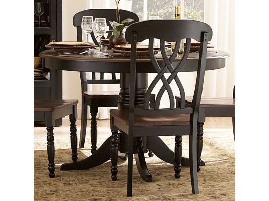 Ohana Round Dining Table In Black