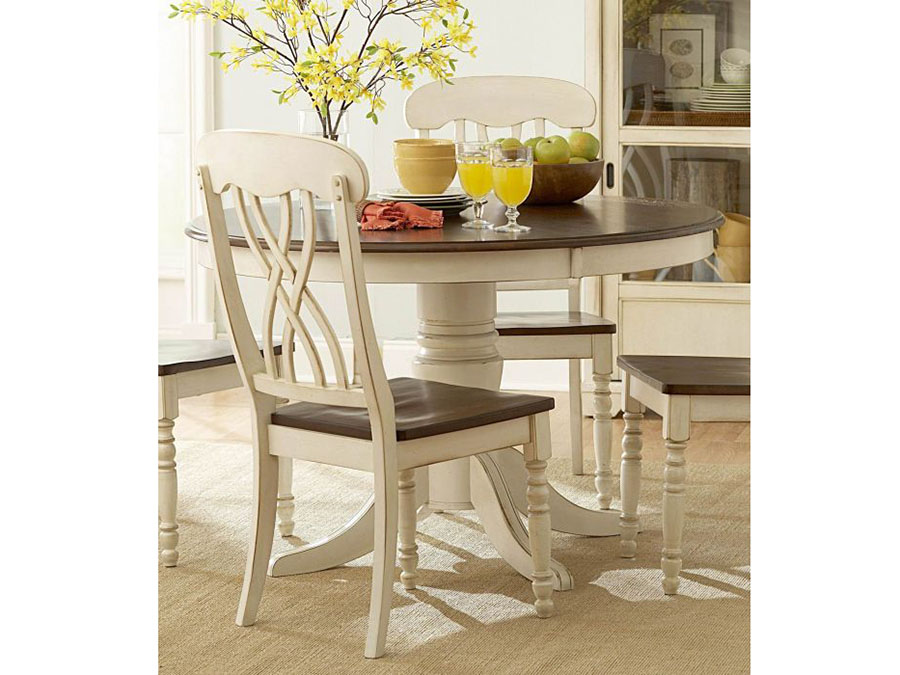 Ohana Wood Round Dining Table
