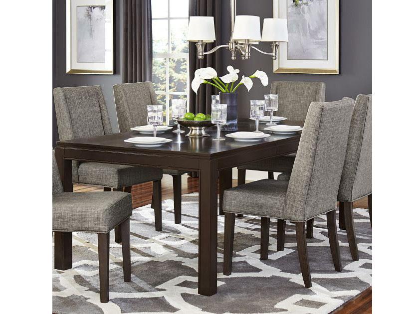 Astonishing Kavanaugh Dining Table In Dark Brown Download Free Architecture Designs Ferenbritishbridgeorg