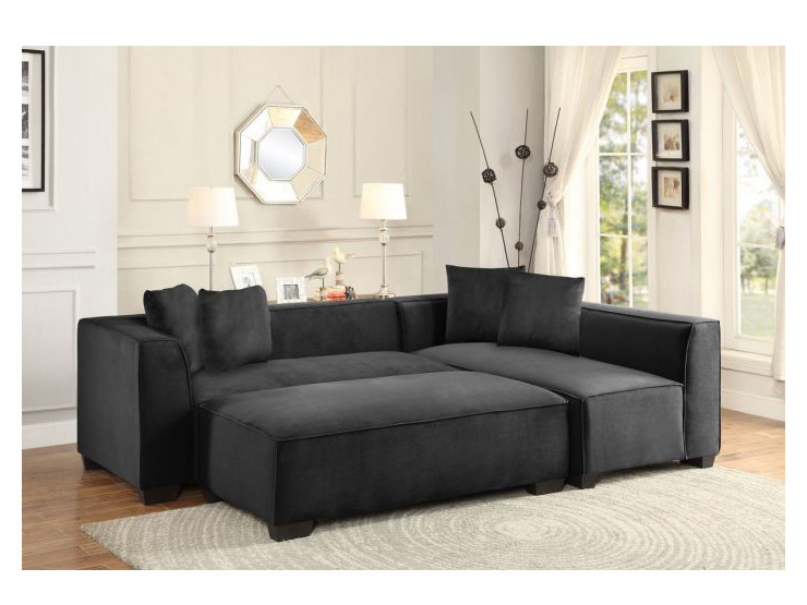 Metz Sectional Sofa W Ottoman Set Shop For Affordable Home