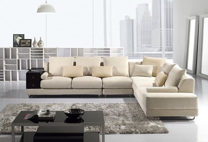 Plush Sectional Sofas Fabric Sectional Sofas With Chaise Mason Plush ...