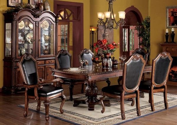 Chateau De Ville Cherry Dining Table Set Leaves Shop For