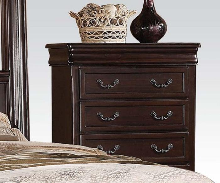 Hanover Dark Cherry 5 Drawer Chest From Vaughn Bett Coleman Furniture