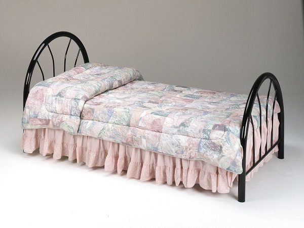 Silhouette Black Twin Headboard/Footboard - Shop for Affordable Home ...