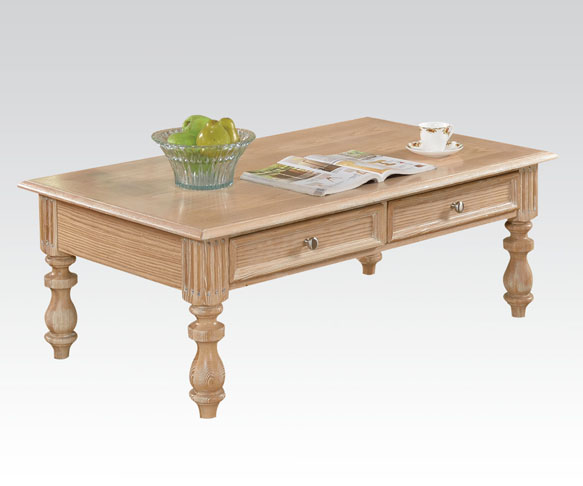 Shantoria White Washed Coffee Table Shop For Affordable Home
