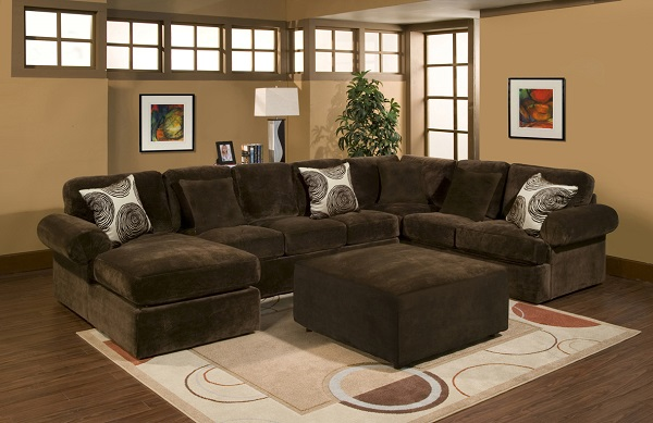 Good Bradley Chocolate Sectional