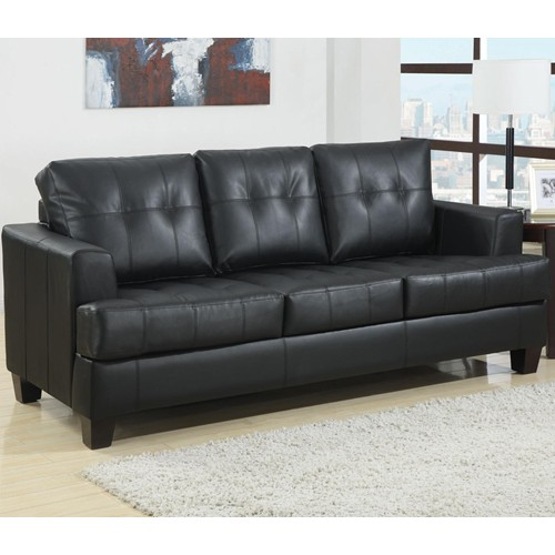 Black Button Tufted Sofa Sleeper Shop For Affordable Home
