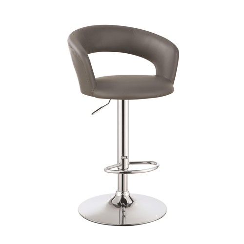 Contemporary Style Grey Adjust Bar Stool Shop For