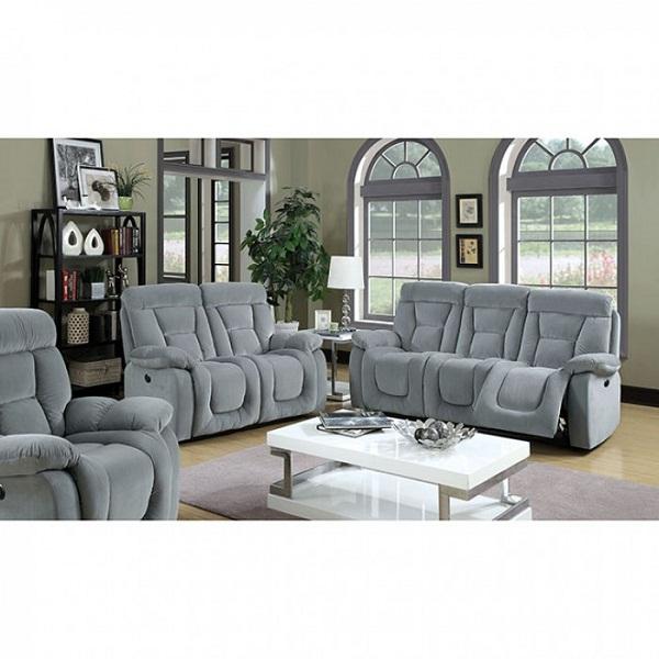 Bloomington Gray Fabric Sofa Couch