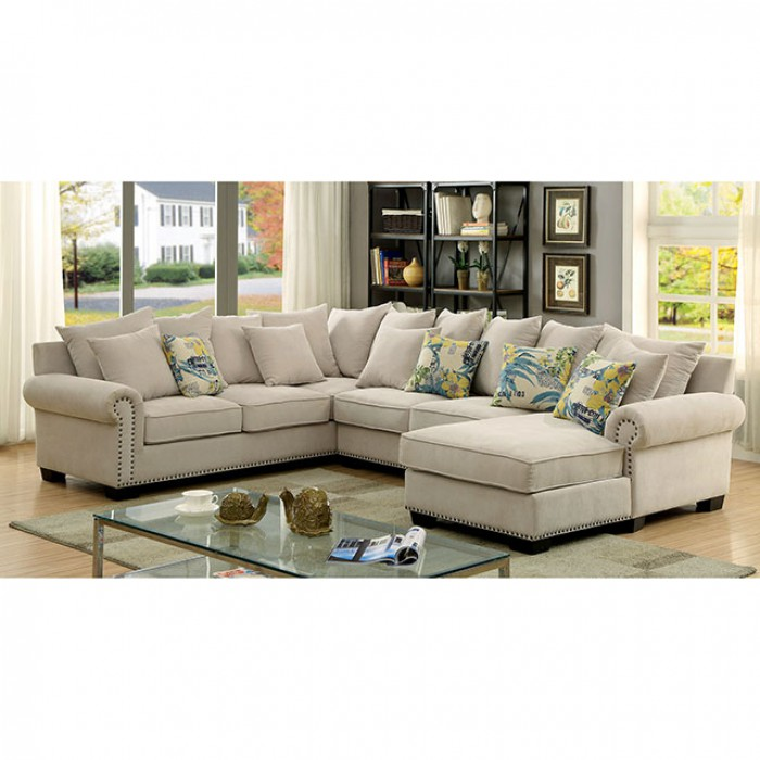 products living crm sectionals fabric santa ci monica sectional ivory detail room index