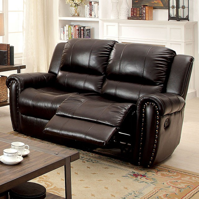 Foxboro Brown Top Grain Leather Sofa - Shop For Affordable Home