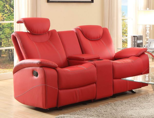 Talbot Reclining Sofa Set in Red - Shop for Affordable Home ...
