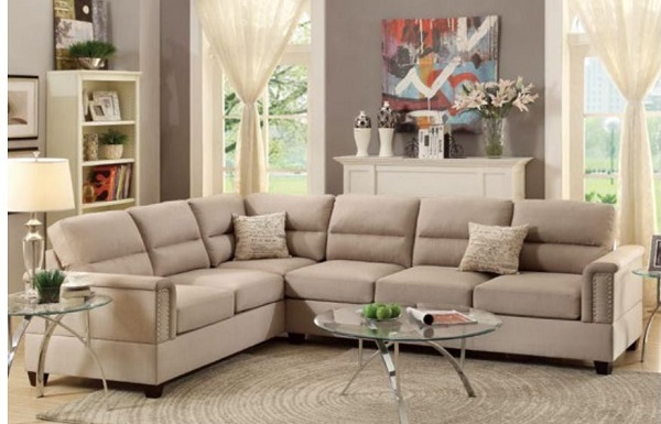 Sensational 2Pcs Sectional Sofa Inzonedesignstudio Interior Chair Design Inzonedesignstudiocom