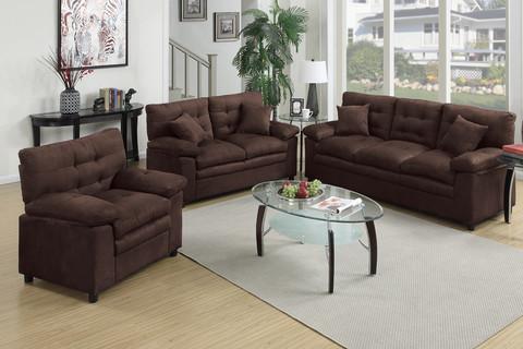 3pcs sofa set shop for affordable home furniture decor for Affordable furniture 3 piece sectional in jesse cocoa