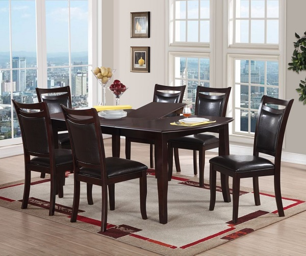 Dining Set In Dark Brown Shop For Affordable Home