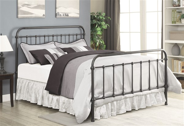 Dark Bronze Calking Metal Bed Shop For Affordable Home Furniture