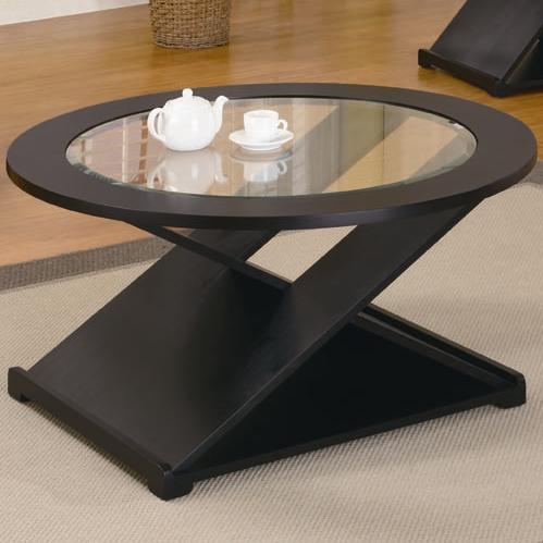 Black 3 Pieces Round Occasional Table Set - Shop for Affordable Home ...