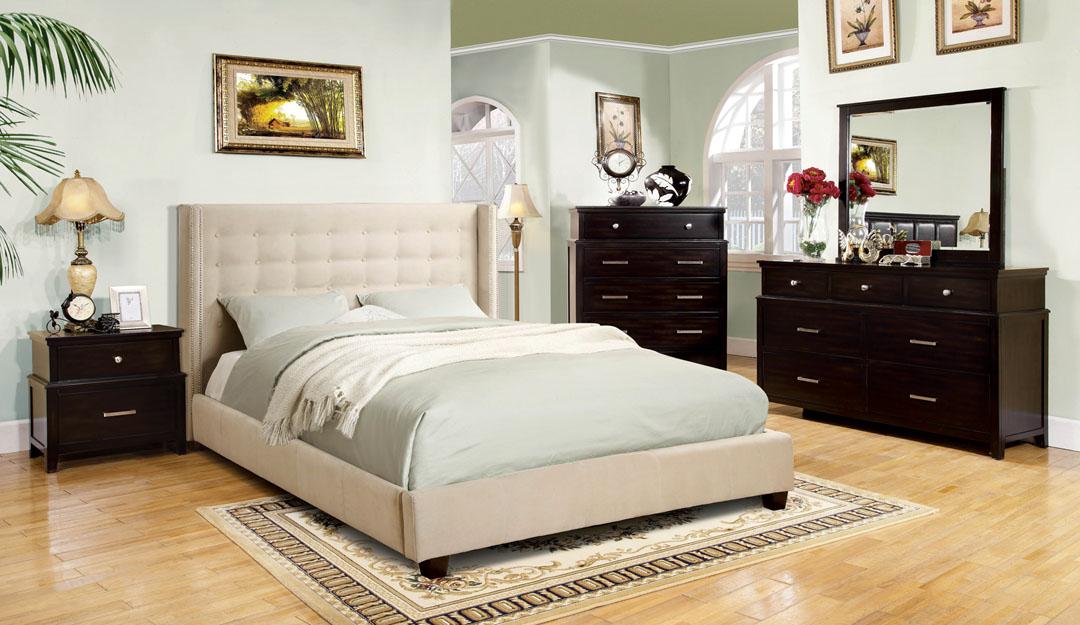 Artemis Ivory Queen Bed