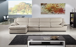 : genuine leather sectional - Sectionals, Sofas & Couches